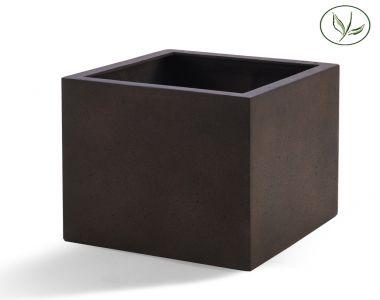 Paris Cube 50 - Rust / Stål (50x50x50)