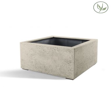 Paris Low Cube 60 - Kalkhvid (60x60x40)