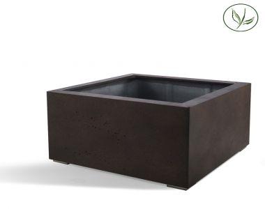 Paris Low Cube 100 - Rust / Stål  (100x100x60)