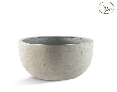 Paris New Egg Pot Low 94 - Kalkhvid (94x56)