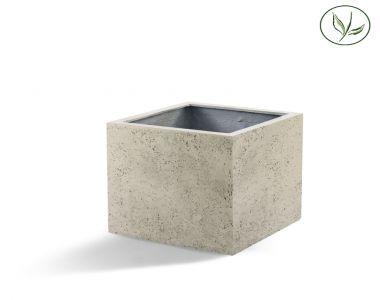 Paris Cube 80 - Kalkhvid (80x80x80)
